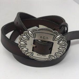 Ralph Lauren Lauren sz L Leather Belt
